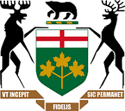 Coat of arms of Ontario Government